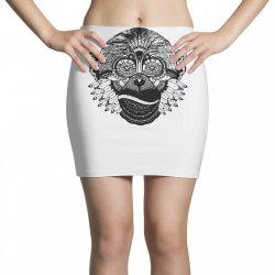 tribal monkey Mini Skirts   Artistshot