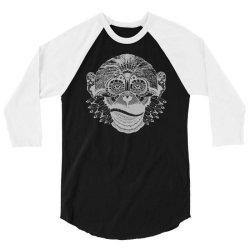 tribal monkey(1) 3/4 Sleeve Shirt | Artistshot