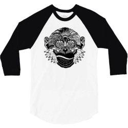 tribal monkey 3/4 Sleeve Shirt | Artistshot