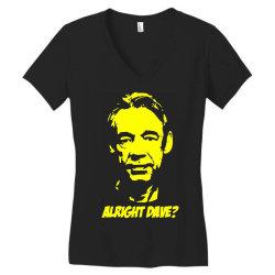 trigger alright dave 4 Women's V-Neck T-Shirt | Artistshot