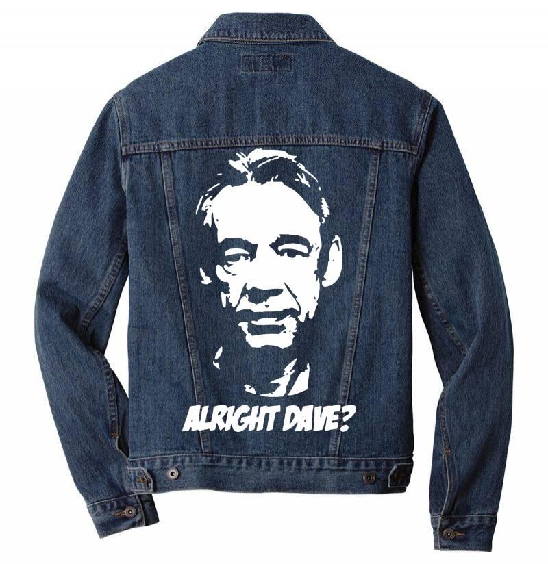 Trigger Alright Dave Men Denim Jacket | Artistshot