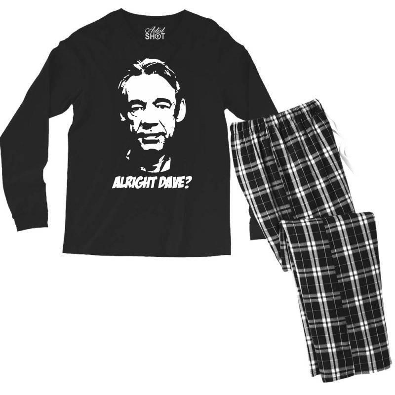 Trigger Alright Dave Men's Long Sleeve Pajama Set | Artistshot