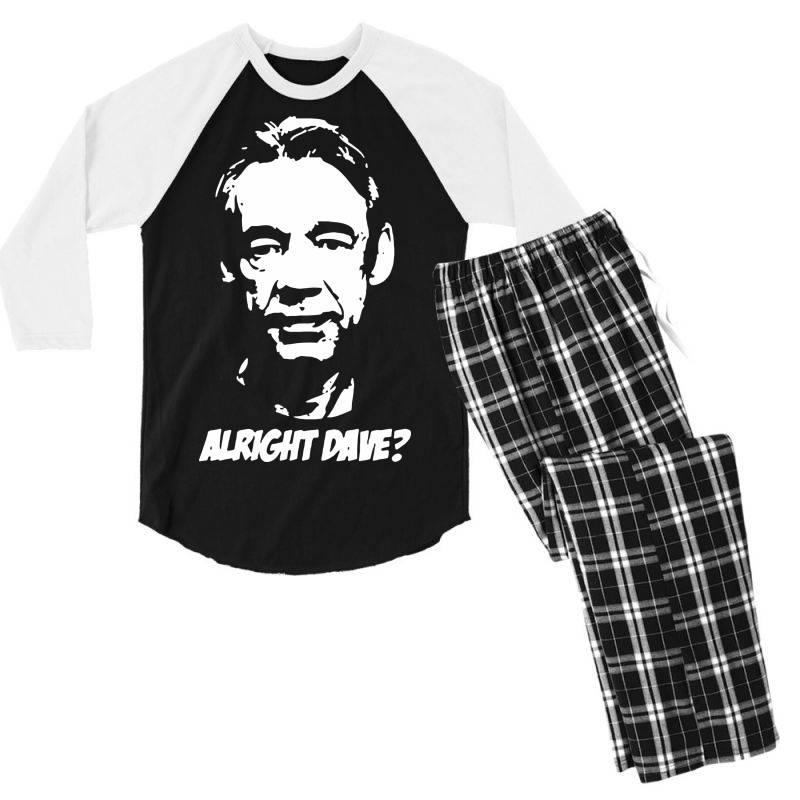 Trigger Alright Dave Men's 3/4 Sleeve Pajama Set | Artistshot
