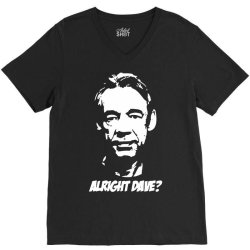 trigger alright dave V-Neck Tee | Artistshot