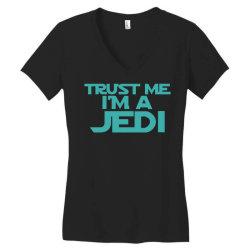 trust me i'm a jedi 3 Women's V-Neck T-Shirt | Artistshot