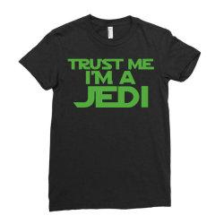 trust me i'm a jedi 4 Ladies Fitted T-Shirt | Artistshot