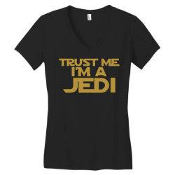 trust me i'm a jedi Women's V-Neck T-Shirt | Artistshot