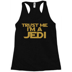 trust me i'm a jedi Racerback Tank | Artistshot