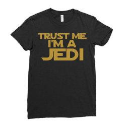 trust me i'm a jedi Ladies Fitted T-Shirt | Artistshot