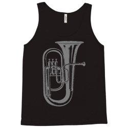 tuba trumpet saxhorn brass wind instrument(1) Tank Top | Artistshot