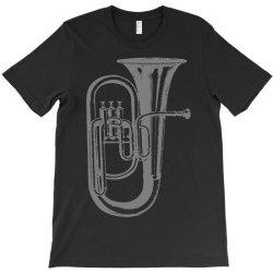 tuba trumpet saxhorn brass wind instrument(1) T-Shirt | Artistshot