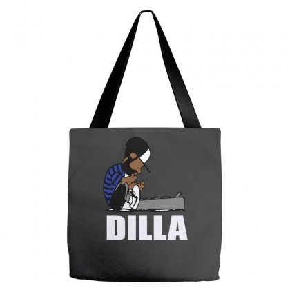 Dilla Schroeder Tote Bags Designed By Henz Art