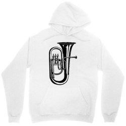 tuba trumpet saxhorn brass wind instrument Unisex Hoodie | Artistshot