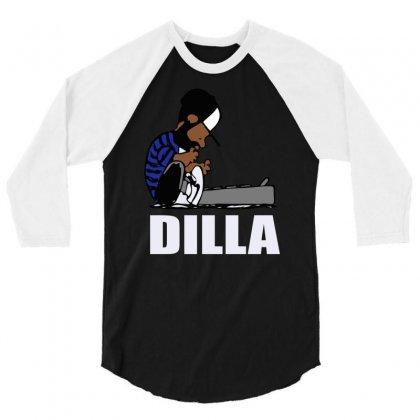 Dilla Schroeder 3/4 Sleeve Shirt Designed By Henz Art