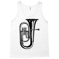 tuba trumpet saxhorn brass wind instrument Tank Top | Artistshot