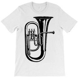 tuba trumpet saxhorn brass wind instrument T-Shirt | Artistshot