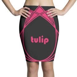 tulip Pencil Skirts   Artistshot