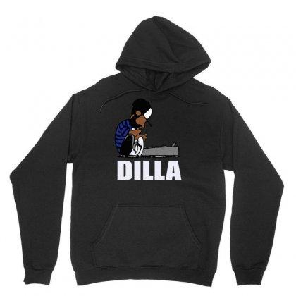 Dilla Schroeder Unisex Hoodie Designed By Henz Art