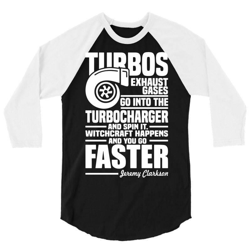 Turbocharger Jeremy Clarkson (2) 3/4 Sleeve Shirt | Artistshot