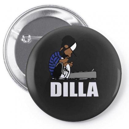 Dilla Schroeder Pin-back Button Designed By Henz Art