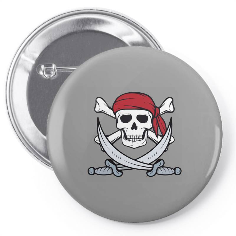 Crossbones Buccaneer Pin-back Button | Artistshot