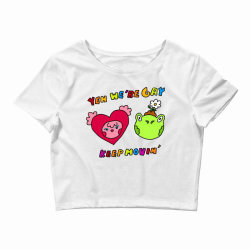 keep it movin classic t shirt Crop Top | Artistshot