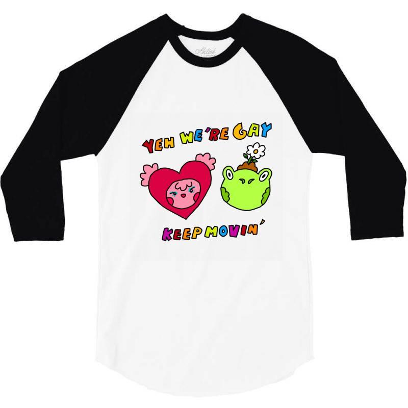 Keep It Movin Classic T Shirt 3/4 Sleeve Shirt   Artistshot
