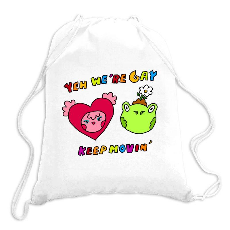 Keep It Movin Classic T Shirt Drawstring Bags | Artistshot