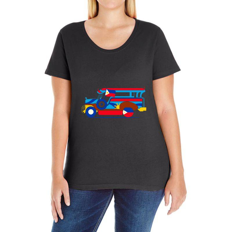 Jeepney Classic T Shirt Ladies Curvy T-shirt | Artistshot