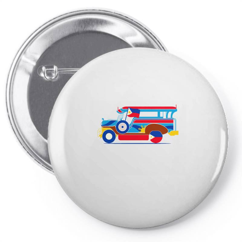 Jeepney Classic T Shirt Pin-back Button | Artistshot