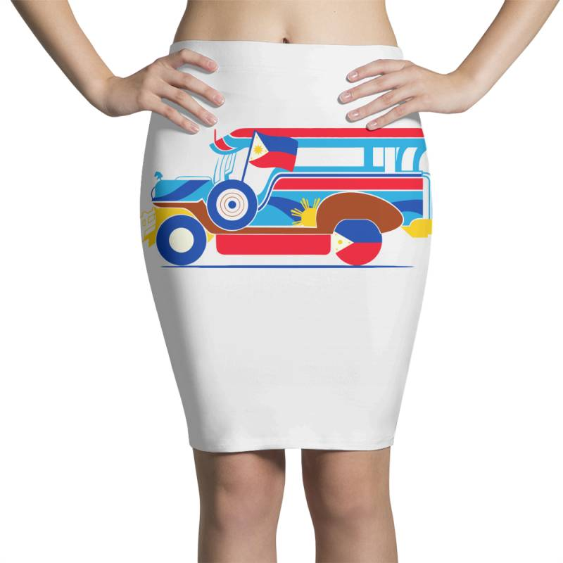 Jeepney Classic T Shirt Pencil Skirts | Artistshot