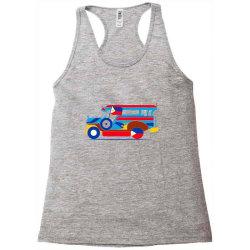 jeepney classic t shirt Racerback Tank | Artistshot