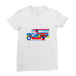 jeepney classic t shirt Ladies Fitted T-Shirt | Artistshot