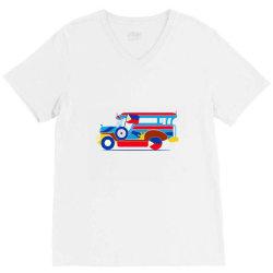 jeepney classic t shirt V-Neck Tee   Artistshot