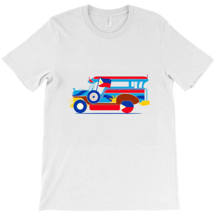 Jeepney Classic T Shirt T-shirt Designed By Coolstars