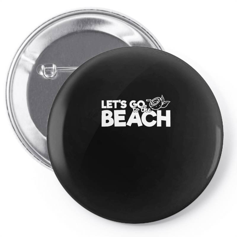 Beach Bound Let's Go To The Beach Pin-back Button | Artistshot