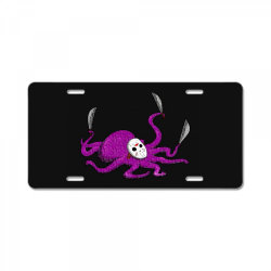 octojason classic t shirt License Plate | Artistshot