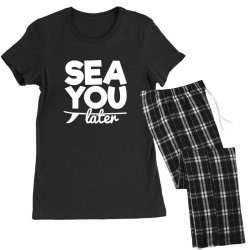 beach bound sea you later Women's Pajamas Set | Artistshot