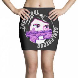 official logo v neck t shirt Mini Skirts | Artistshot