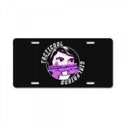 official logo v neck t shirt License Plate   Artistshot