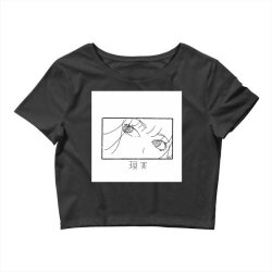 reality genjutsu   by nina j  t shirt Crop Top | Artistshot