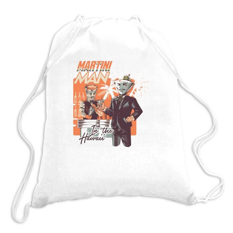 Martini Man Drawstring Bags | Artistshot