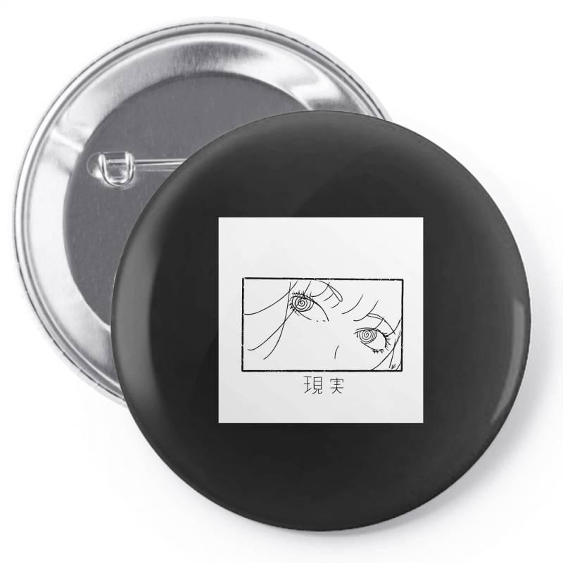 Reality Genjutsu   By Nina J  T Shirt Pin-back Button | Artistshot