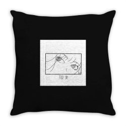 reality genjutsu   by nina j  t shirt Throw Pillow | Artistshot