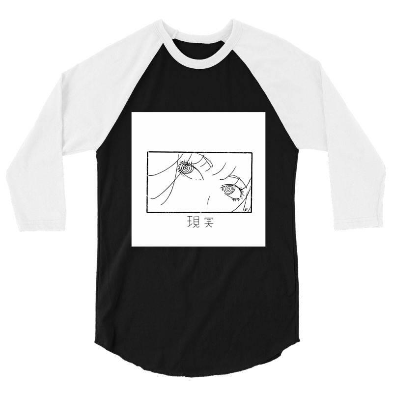 Reality Genjutsu   By Nina J  T Shirt 3/4 Sleeve Shirt | Artistshot
