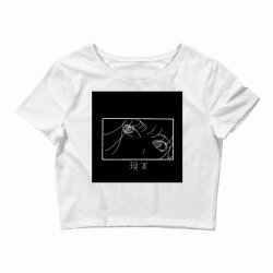reality genjutsu   by nina j classic t shirt Crop Top   Artistshot