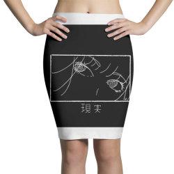 reality genjutsu   by nina j classic t shirt Pencil Skirts   Artistshot