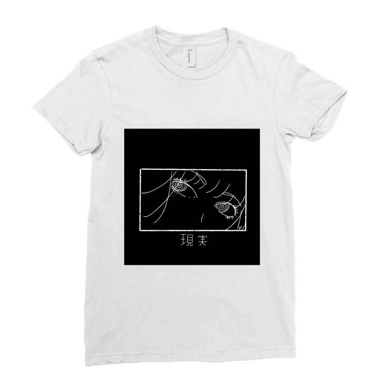 Reality Genjutsu   By Nina J Classic T Shirt Ladies Fitted T-shirt   Artistshot