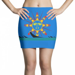 squaxin's salish sun classic t shirt Mini Skirts | Artistshot