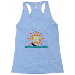 squaxin's salish sun classic t shirt Racerback Tank | Artistshot